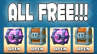 (18.5 MB) Clash Royale - OH MY FREE CHESTS!! Free Chests FTW! Mp3