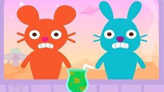 Sago Mini World 🌎- Sago Mini Super Juice - Baby Make Juice and Learn Colors - Fun Pet Game For Kids