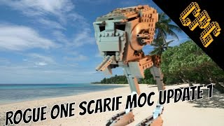 Lego Rogue One: Scarif MOC Update 1