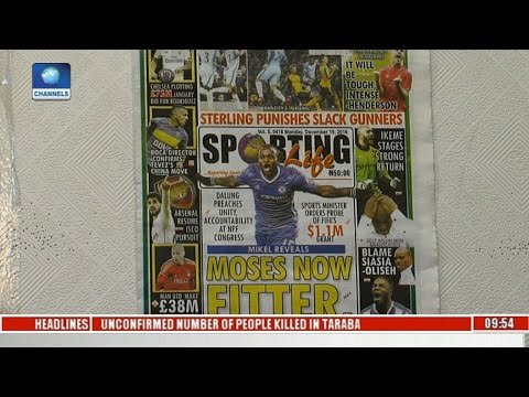 Sports This Morning: Analysing Trending Sport Stories On NewsPaper