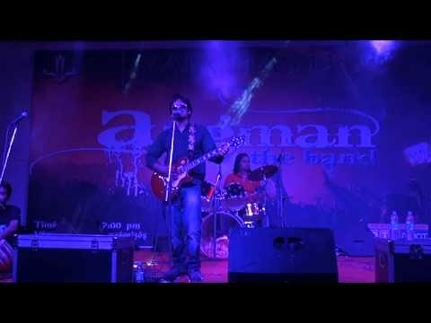 Aagman performing Teri kami live at IIT Jodhpur