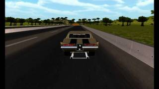 Haulin Azz drag racing game cloth physics test