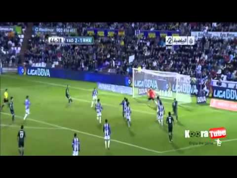 Real Madrid vs Real Valladolid 3-2
