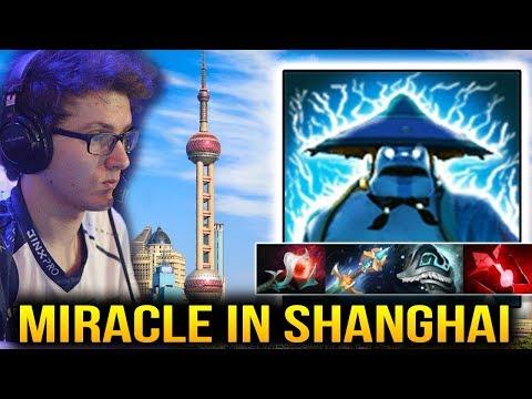 Miracle- Storm Spirit in Shanghai Server Dota 2