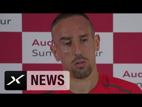 "Franck Ribery: ""Carlo Ancelotti ist ein cooler Trainer"" | FC Bayern München"