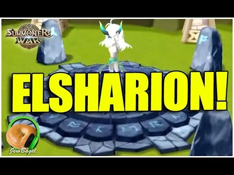 SUMMONERS WAR: ELSHARION IS HERE!!!