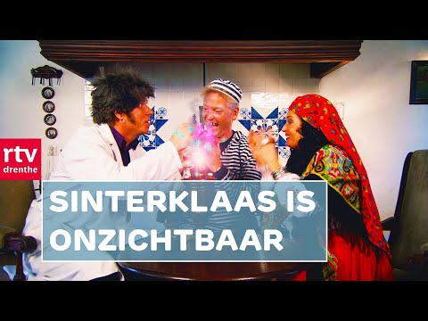Sinterklaas en zijn Pieten komen met de boot naar Drenthe en bijna iedereen is blij. Maar de Boze Professor, de Gemene Vrouw en de Boef verzinnen een gemeen ...
