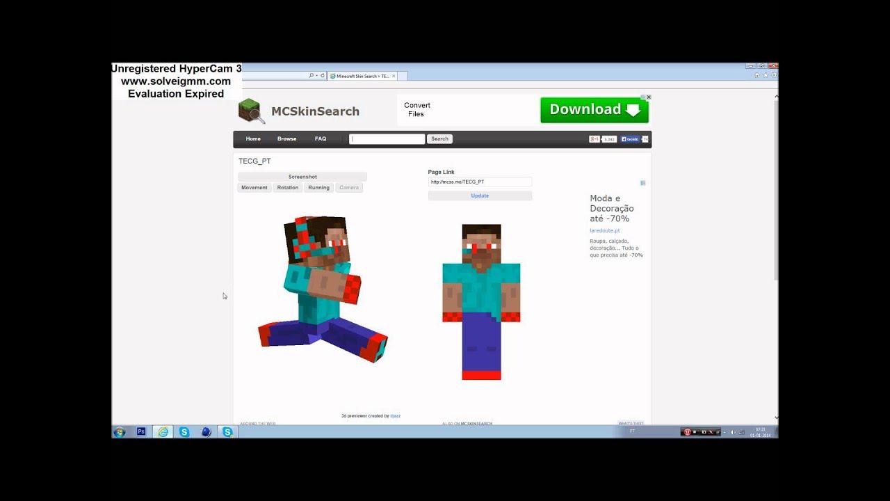 Как сделать скин в minecraft чтобы его видели на сервере