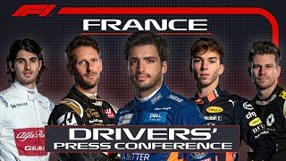 2019 French Grand Prix: Pre-Race Press Conference