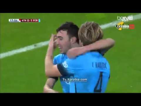 Barça 2-1 athletic bilbao|Copa del rey|2015-2016 all Goal HD