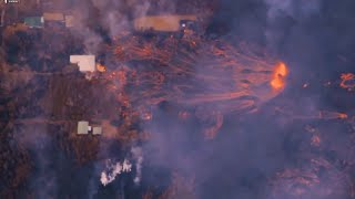 Hawaii volcano eruption: Latest footage & info - 26th May