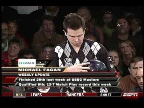 2009 PBA Geico Plastic Ball Championship - Michael Fagan vs. Jeff Carter (Part 1)