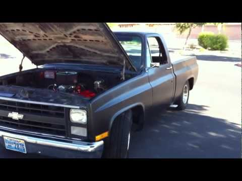 1978 CHEVROLET C/10 496 STROKER. FULL MANUAL 4l80E. SPINTECH XLP 3