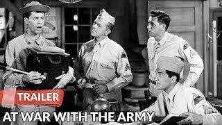 At War with the Army 1950 Trailer | Dean Martin | Jerry Lewis