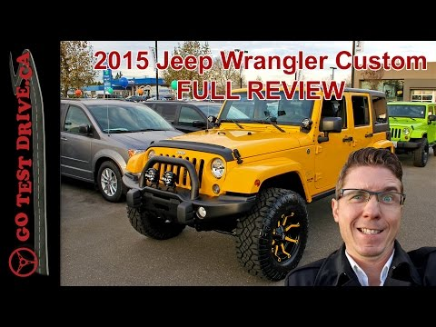 2015 Jeep Wrangler full review