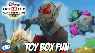 Ant Man Disney Infinity 3.0 Toy Box Fun Gameplay for Ant Man and the Wasp