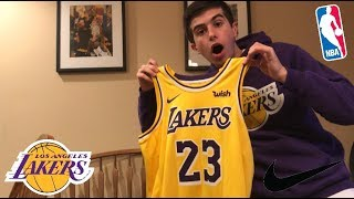 NEW NIKE LEBRON JAMES LAKERS SWINGMAN JERSEY!! FULL REVIEW+WHY YOU MUST COP