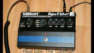 Recording distorted guitars - POD vs Tubeman