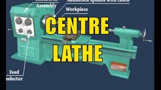 Centre Lathe    Name and Function of Lathe Parts