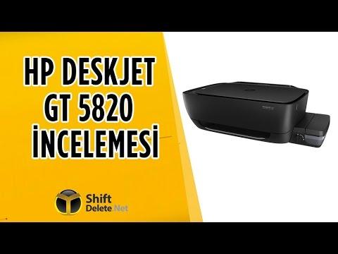 HP Deskjet GT 5820 inceleme