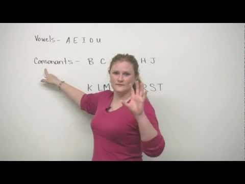 English Pronunciation - ABCDEFG - How to say letters!
