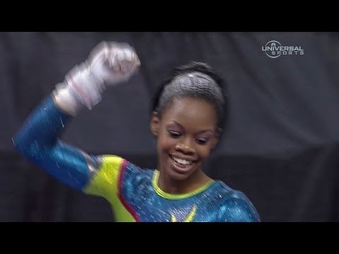 Gabrielle Douglas takes 2nd at Visa Championship - Night 2 Routines