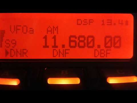 Radio China Int. Swahili Service 11680 kHz