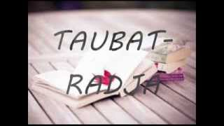 download lagu Taubat Radja  Lyrics Mp3 gratis