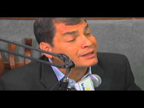 Rafael Correa: EE. UU. devuelva a los banqueros corruptos a quienes da asilo