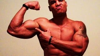 How To Get Bigger Biceps Without Weights!!! Home / Street Arm Workout (Big Brandon Carter)