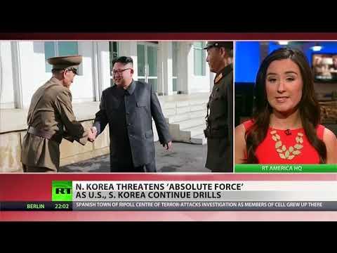 North Korea Threatens 'Absolute Force' As U.S.-South Korea Drills Continue