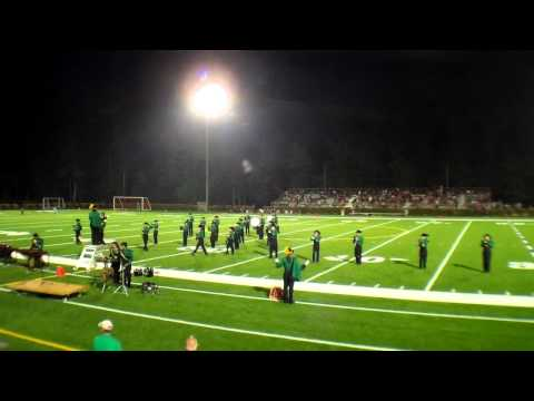 2011 Bishop Guertin High School Cardinal Marching Band Game vs. Pinkerton 9/3/11.mp4