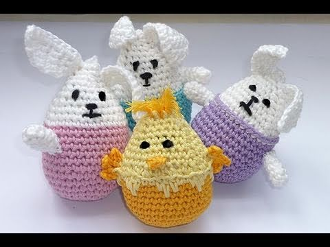 h keln stehaufh schen amigurumi youtube. Black Bedroom Furniture Sets. Home Design Ideas