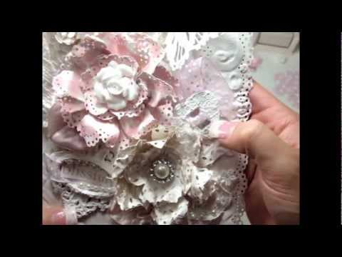 Tutorial - Doily Paper Flower