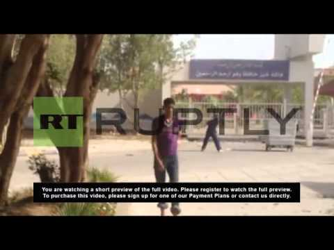 Bahrain: Police face off against schoolchildren with tear gas