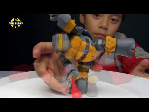 TMNT Metalhead / Robot Cabeza Metálica / de las Tortugas Ninja Nickelodeon en Español