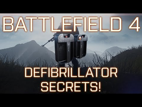 Battlefield 4: Quick Tip - Overlooked Features of the Defibrillator + Revive Like in BF3!