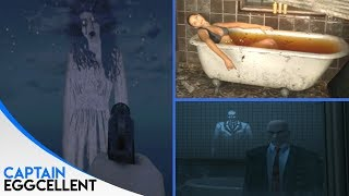 8 CREEPY Ghost Easter Eggs In Video Games