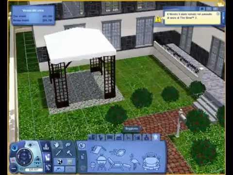 THE SIMS 3: costruire una casa in poco tempo!!