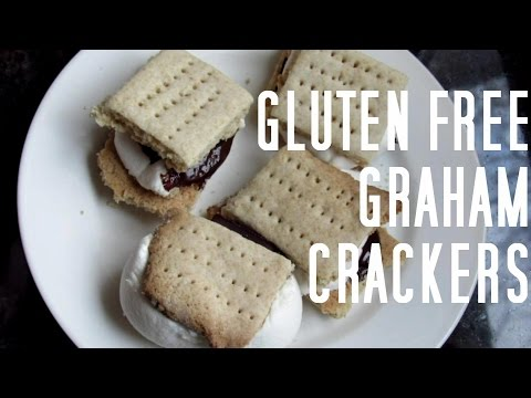 Gluten Free Graham Crackers