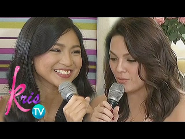 Kris TV: KC reads a message for Nadine