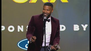 Jamie Foxx Performs 'Wanda' & Kanye West Impressions In Hilarious Speech | Urban One Honors