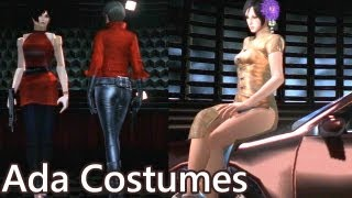 Resident Evil 6 Ada EX3 - all costumes and gameplay