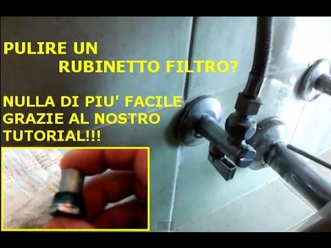 Smontare e pulire un rubinetto filtro youtube - Guarnizione scarico lavandino cucina ...