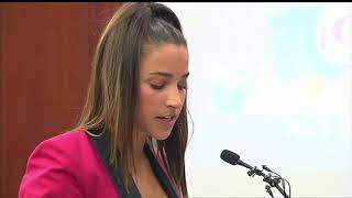 Gold medalist Aly Raisman delivers powerful message to accused Olympic doctor in court