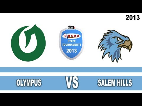 Court#4  Match#4 --- Olympus vs Salem Hills High School 2013 State 4A Volleyball Tournament