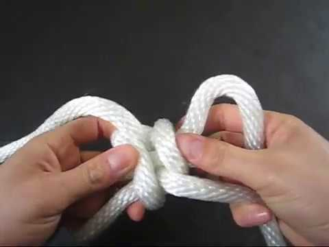 How to Tie a Quick Rope Shackle by TIAT
