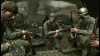Call of Duty 3 : En Marche Vers Paris Gameplay - Chapitre 1 - (St lô) 1/2