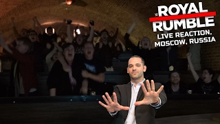 Download WWE ROYAL RUMBLE MATCH 2017 LIVE REACTION (MOSCOW, RUSSIA) 3Gp Mp4