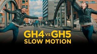 GH5 vs GH4 Slow Motion Comparison